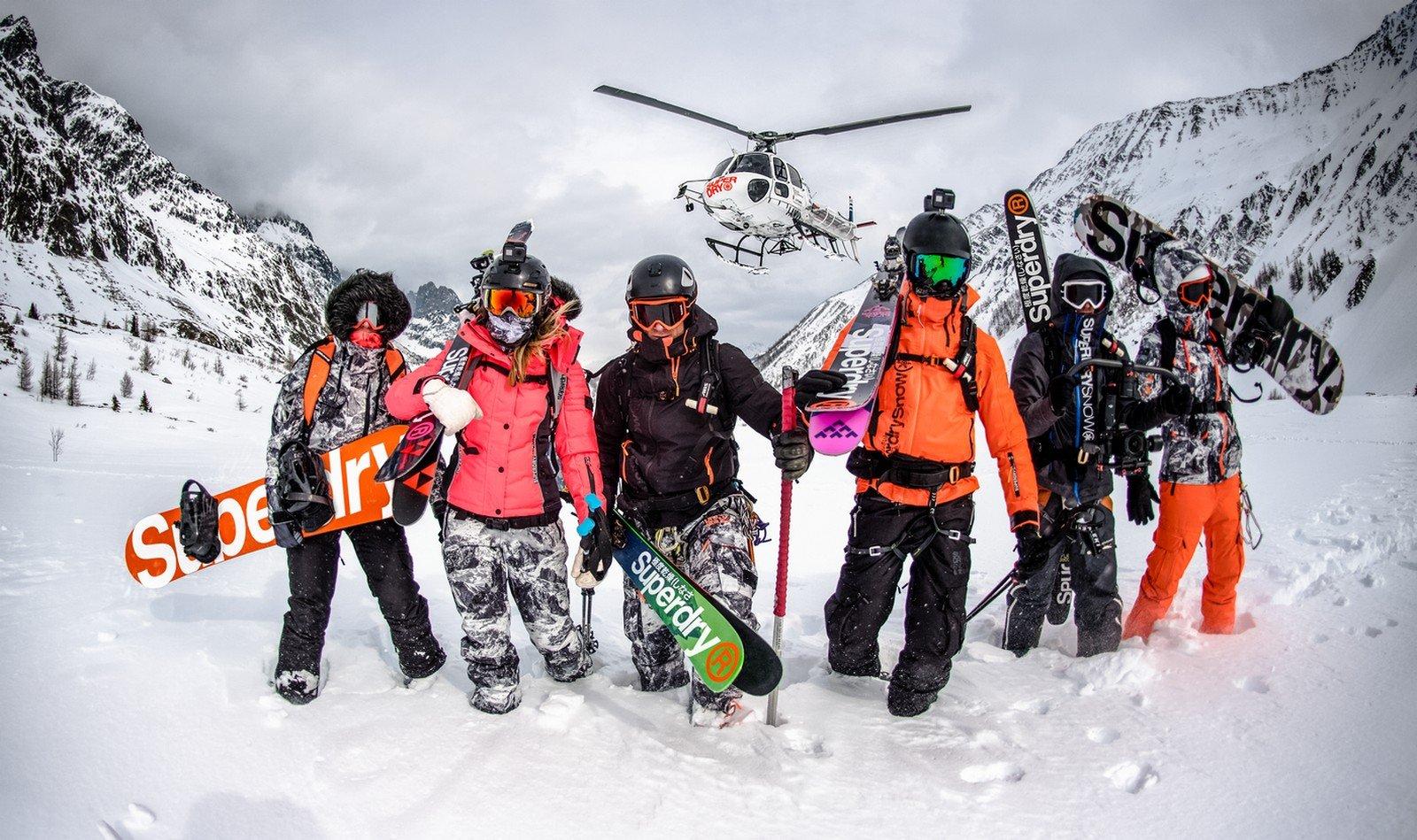 Ropa de esquí Superdry