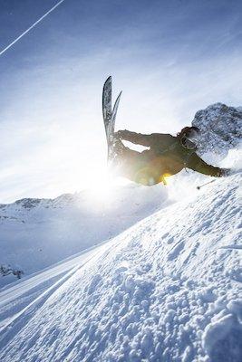 Esquís Salomon y fijaciones